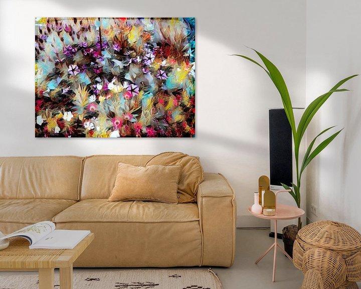 Beispiel: Blumenwiese Ölmalerei von Patricia Piotrak