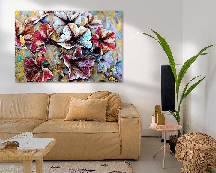 Beispiel: Sommerblumen Ölmalerei von Patricia Piotrak