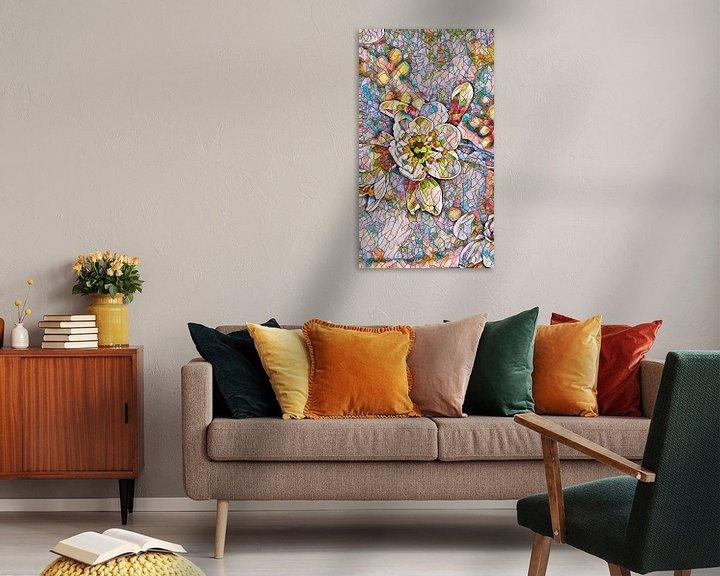 Beispiel: Kirschblüte Mosaik von Patricia Piotrak