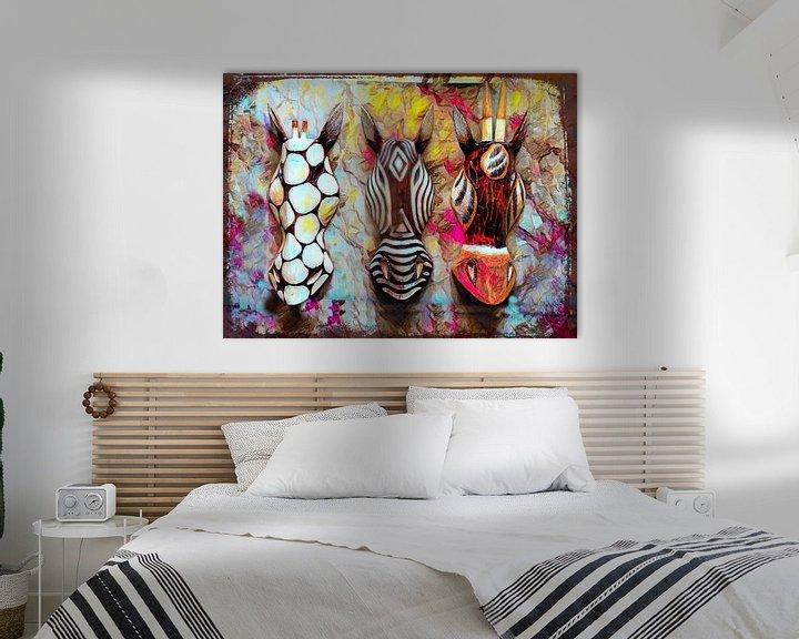 Beispiel: African Safari Abstrakt von Patricia Piotrak