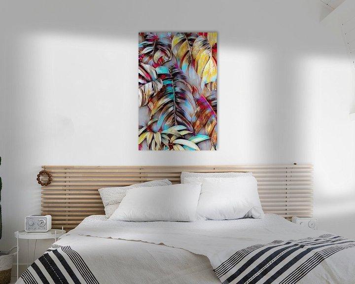 Beispiel: Palmenblätter Abstrakt von Patricia Piotrak