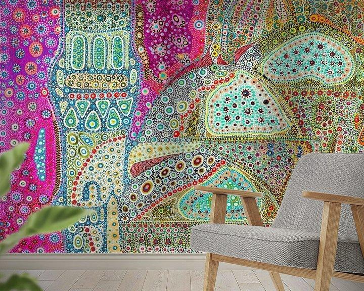 Sfeerimpressie behang: Fairytale Mosque van Mohamed Hamida