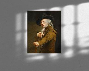 Porträt des Künstlers mit Spottgesicht, Joseph Ducreux