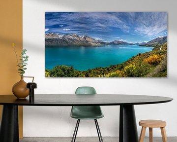Lake Wanaka, Nieuw Zeeland van Christian Müringer