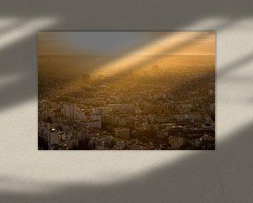 Parijs tijdens het gouden uurtje van Damien Franscoise
