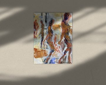 Fahren Sie fort von ART Eva Maria