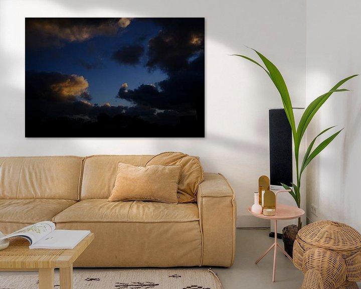 Sfeerimpressie: Wolken jagen van Bastiaan Vogel