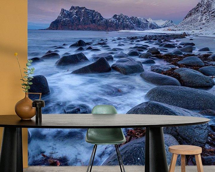 Beispiel fototapete: Uttakleiv Strand von Tilo Grellmann | Photography