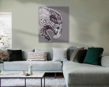 Eagle ( Zeichnung geändert ) von Jose Lok