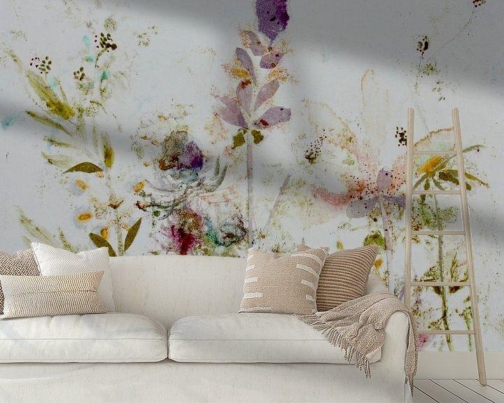 Sfeerimpressie behang: Wild flowers van RAR Kramer