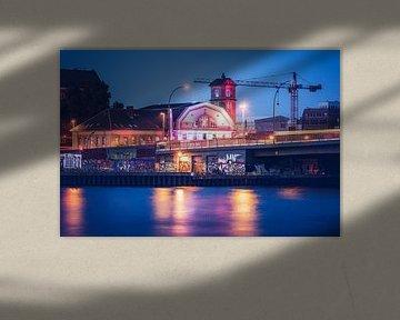 Osthafen Berlin - Elsenbrücke / Altes Kraftwerk von Alexander Voss