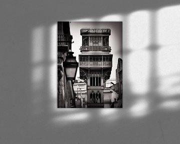 Lissabon - Elevador de Santa Justa von Alexander Voss