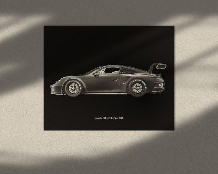 Sfeerimpressie: Porsche 911 GT-3 RS 2021 van Jan Keteleer