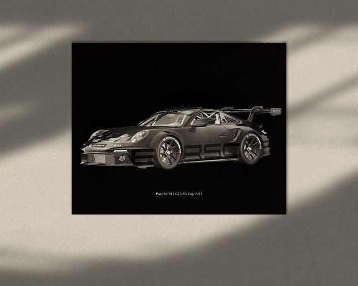 Sfeerimpressie: Porsche 911 GT-3 RS 2021 raceversie van Jan Keteleer