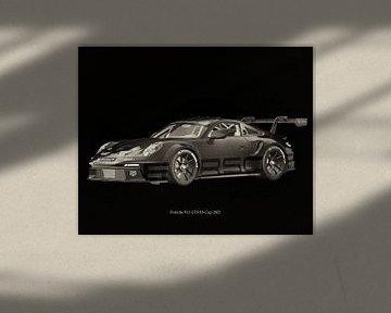 Porsche 911 GT-3 RS 2021 raceversie