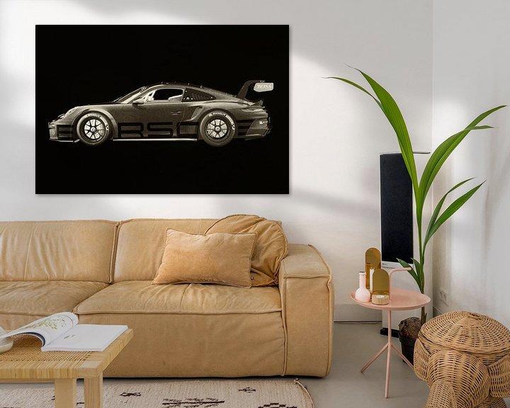 Sfeerimpressie: Porsche 911 GT-3 RS 2021 side van Jan Keteleer