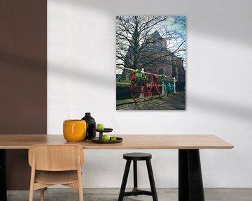 Nieuwe Kerk in Delft von Sharona de Wolf