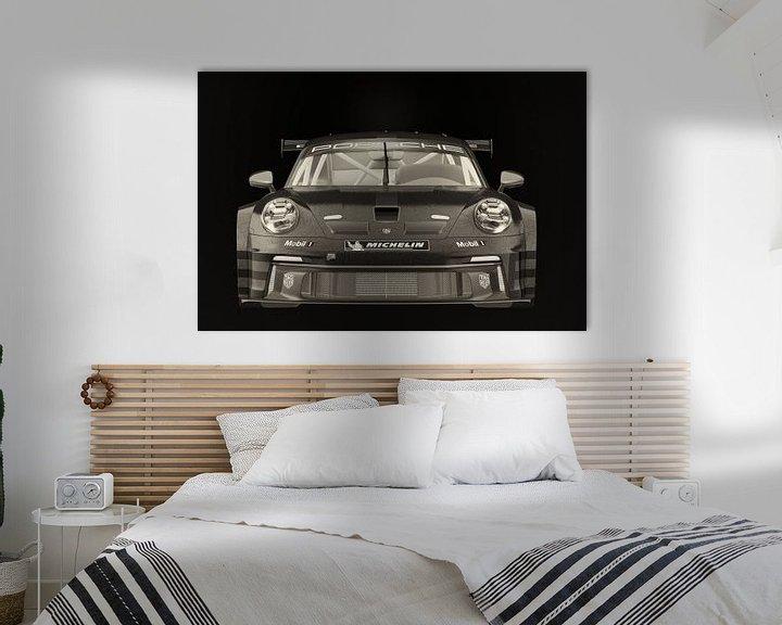 Sfeerimpressie: Porsche 911 GT-3 RS - Cup 2021 raceauto van Jan Keteleer