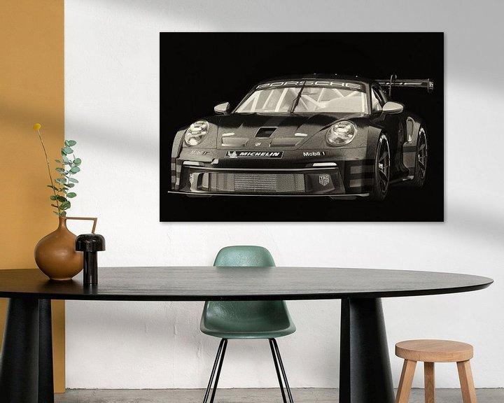 Sfeerimpressie: Porsche 911 GT-3 RS - Cup 2021 van Jan Keteleer