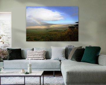 Ngorongoro Rainbow von BL Photography