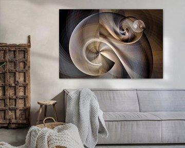 Nautilus schelp van Max Steinwald
