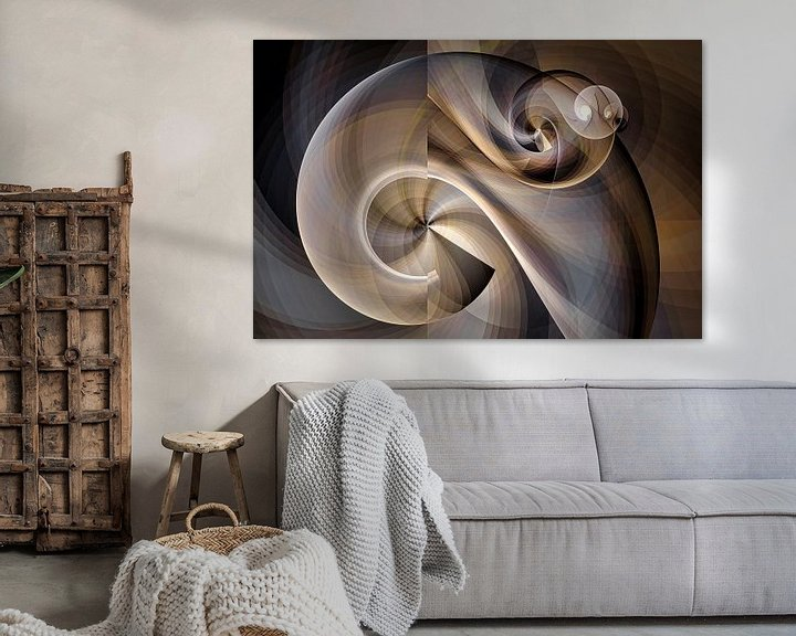 Sfeerimpressie: Nautilus schelp van Max Steinwald