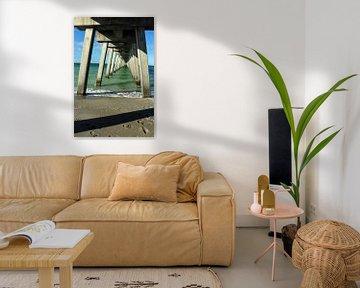 Unter der Seebrücke von Christiane Schulze