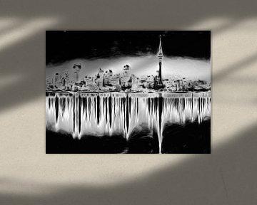 Solarisation XXXIII sur Maurice Dawson
