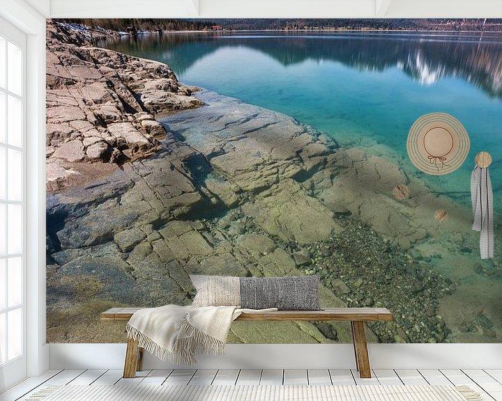 Beispiel fototapete: Walchensee von Einhorn Fotografie