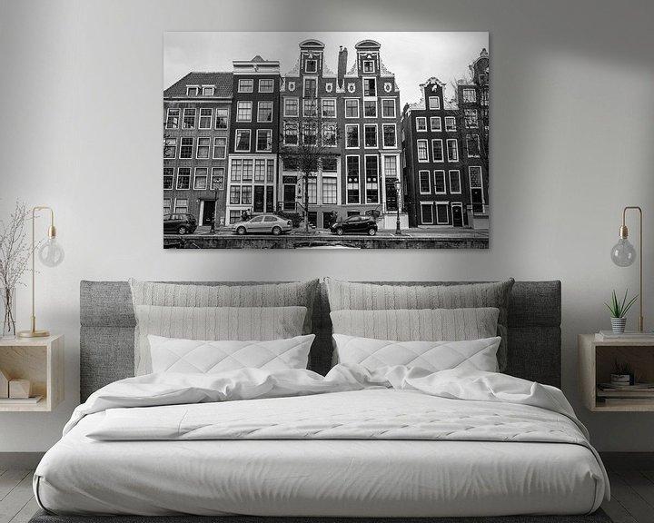Sfeerimpressie: Amsterdam grachtenhuizen van Vincent de Moor