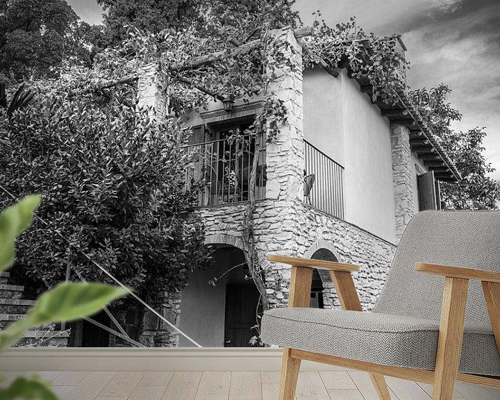 Sfeerimpressie behang: Stilleven, Sicilië van Vincent de Moor