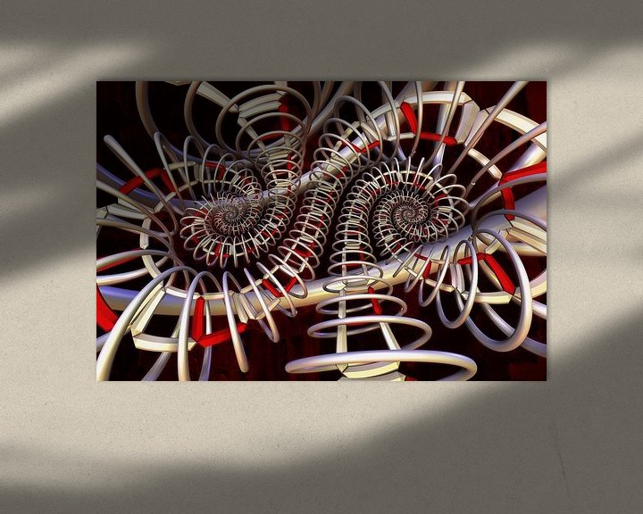 Impression: Double spirale sur Max Steinwald