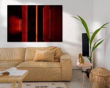 Orange Rahmen 2 von Christel Bekkers