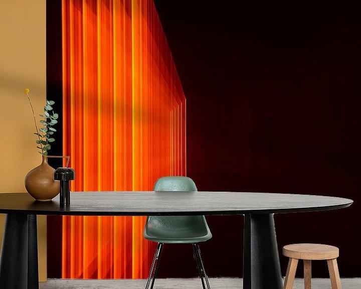 Beispiel fototapete: Orange Rahmen 3 von Christel Bekkers