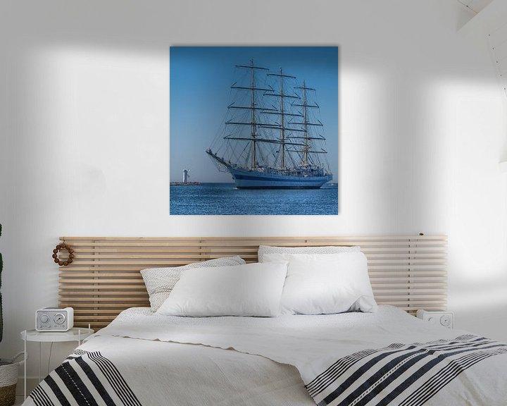 Beispiel: Vollschiff Mir von Peter Morgenroth