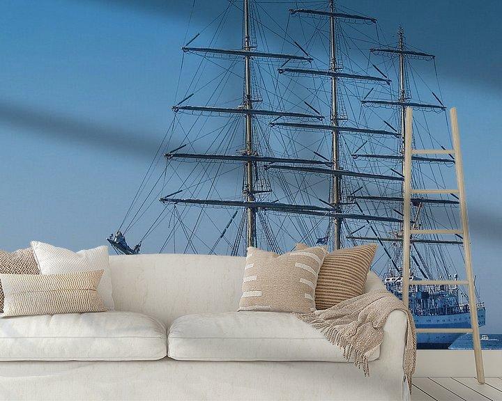 Beispiel fototapete: Vollschiff Mir von Peter Morgenroth