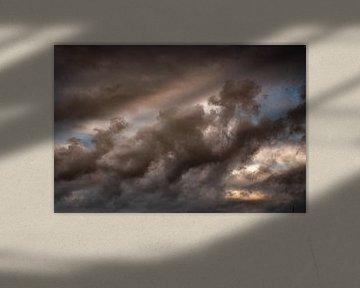 Wolken I von Ellen Snoek