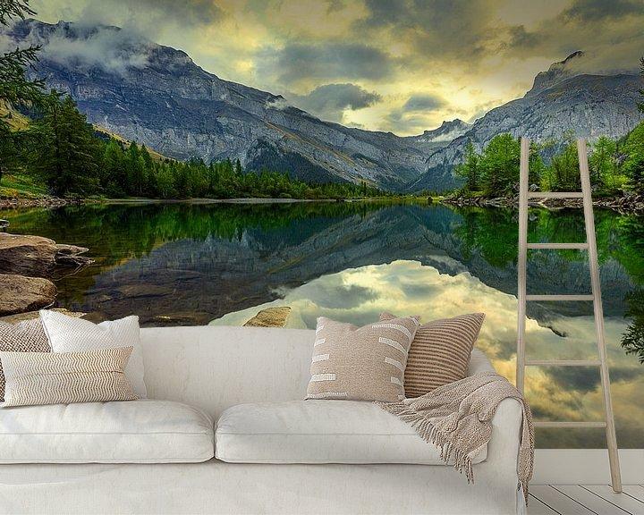 Beispiel fototapete: Perfekte Reflexion! von Madan Raj Rajagopal
