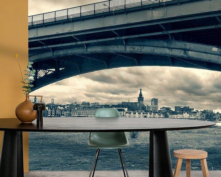 Sfeerimpressie behang: Nijmegen van Vincent de Moor