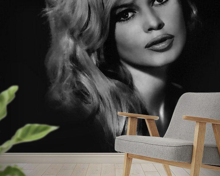 Beispiel fototapete: Brigitte Bardot von Brian Morgan