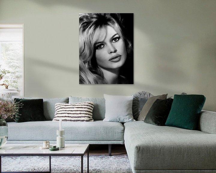 Beispiel: Brigitte Bardot von Brian Morgan