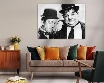 Stan Laurel en Oliver Hardy
