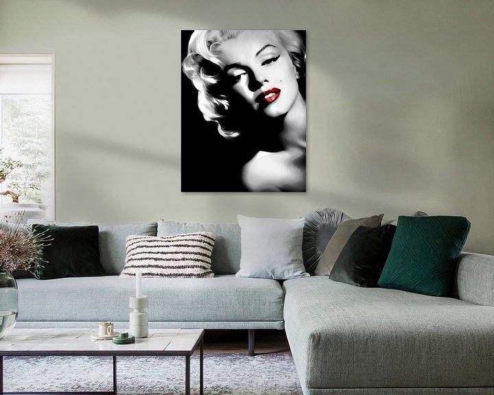 Sfeerimpressie: Marilyn Monroe van Brian Morgan