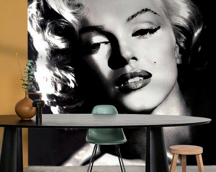 Beispiel fototapete: Marilyn Monroe von Brian Morgan