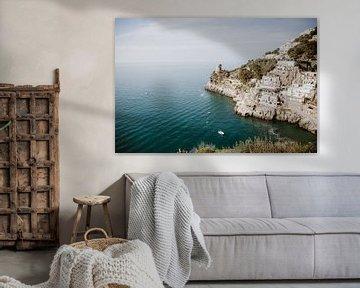 Mediterraanse dromen Italiaanse Amalfi kust van sonja koning