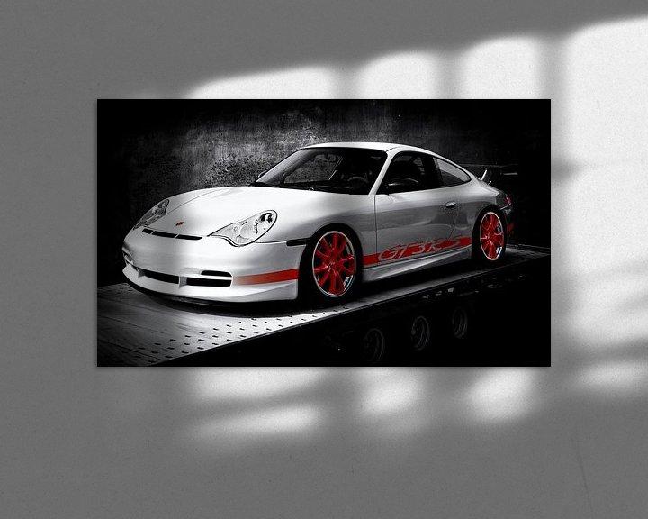 Sfeerimpressie: Porsche 911 GT3 RS Type 996 van aRi F. Huber