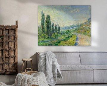 Die Straße nach Vétheuil, Claude Monet