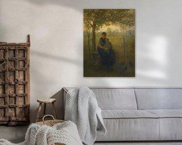 Die Madonna von Drenthe, Jozef Israëls