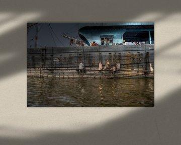 Boat Painters van BL Photography