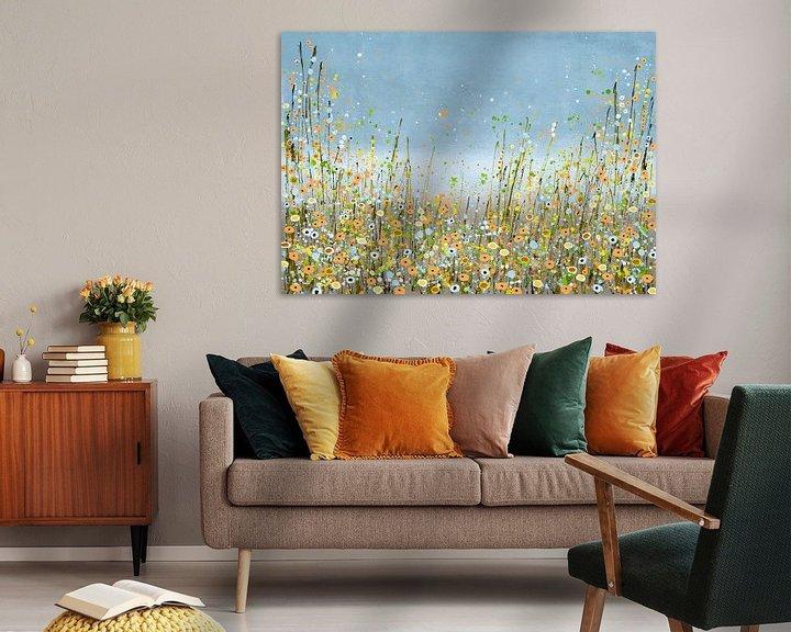 Sfeerimpressie: Bloemenzee schilderij van Bianca ter Riet